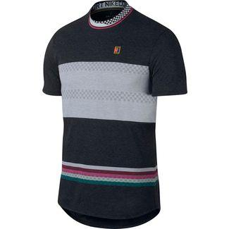 buy popular d8a10 6397d Nike M NKCT CHLLNGR TOP SS MB NT Tennisshirt Herren black