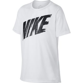 Nike Dry Funktionsshirt Kinder white-black