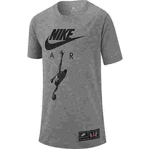 Nike NSW Air Photo T-Shirt Kinder dk-grey-heather-black