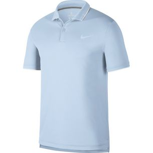 Nike M NKCT DRY POLO TEAM Tennis Polo Herren half blue-white-white