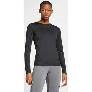 Nike Pro Funktionsshirt Damen black-white