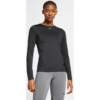 Nike Pro Funktionsshirt Damen black-white