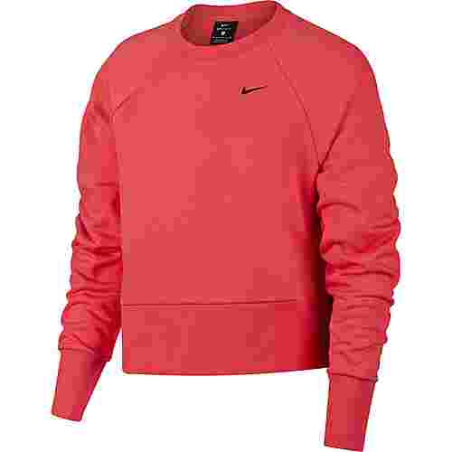 Nike Dry Graphic Versa Sweatshirt Damen ember glow-black
