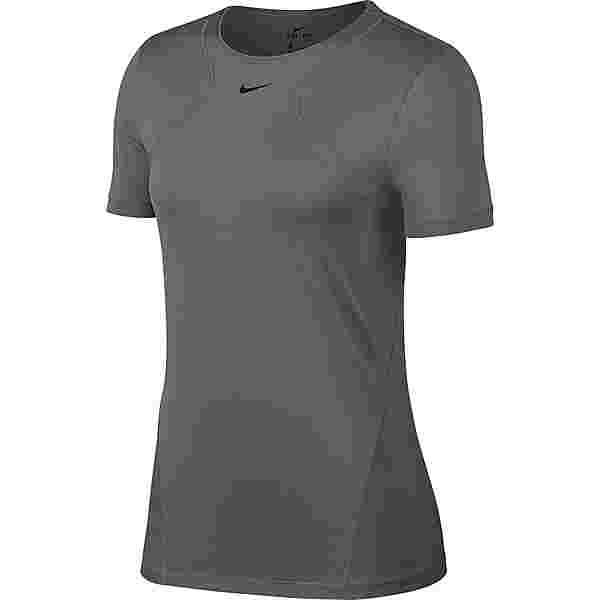 Nike Pro Funktionsshirt Damen gunsmoke-black
