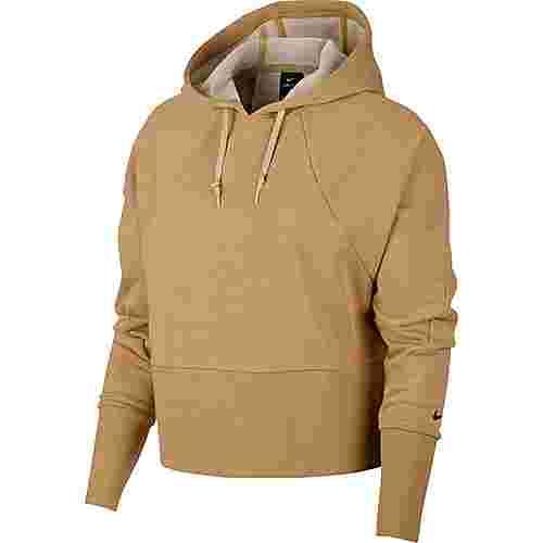 Nike Studio Versa Hoodie Damen club gold-gold