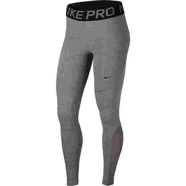 Nike Pro Tights Damen gunsmoke-black