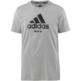 adidas T-Shirt grey-black
