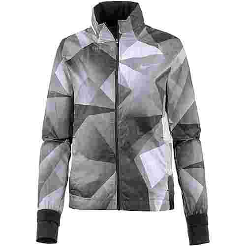 Nike Shield Laufjacke Damen black/reflective silver