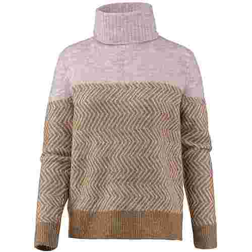 Only Rollkragenpullover Damen indian tan