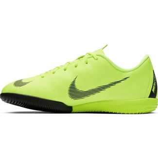 Nike JR MERCURIAL VAPORX 12 ACADEMY GS IC Fußballschuhe Kinder volt-black
