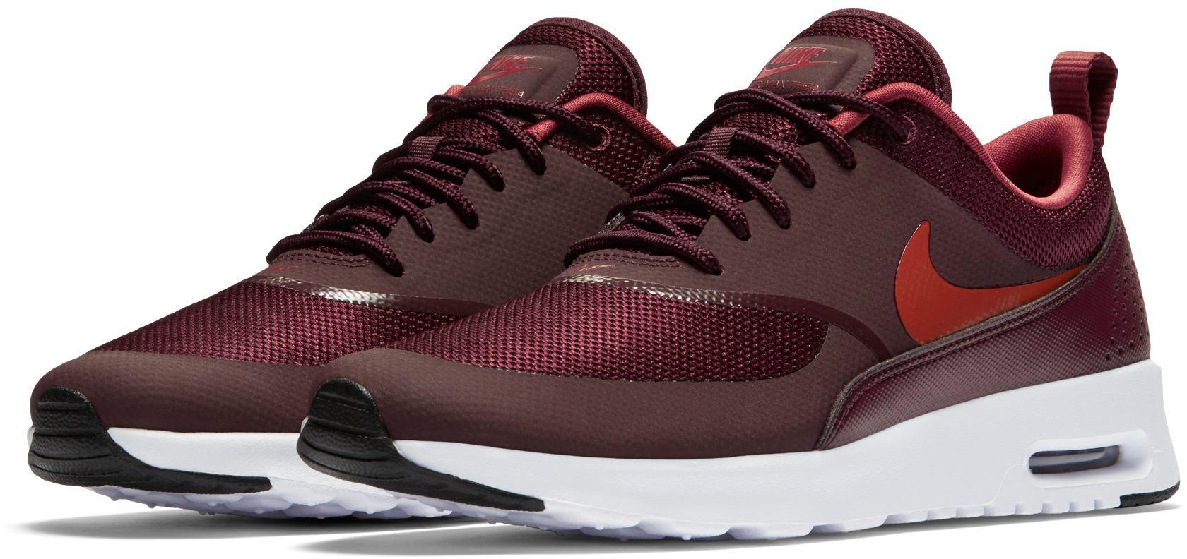 Nike Air Max Thea Sneaker Damen burgundy crush burnt orange im Online Shop von SportScheck kaufen