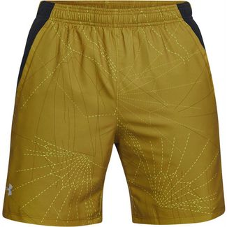 Under Armour LAUNCH SW 7 PRINTED Laufshorts Herren palm green