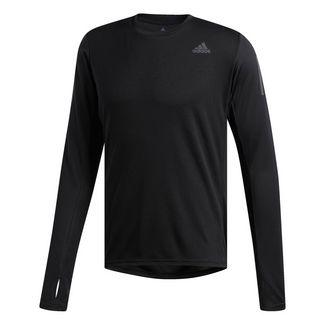 adidas Own the Run Longsleeve Langarmshirt Herren Schwarz