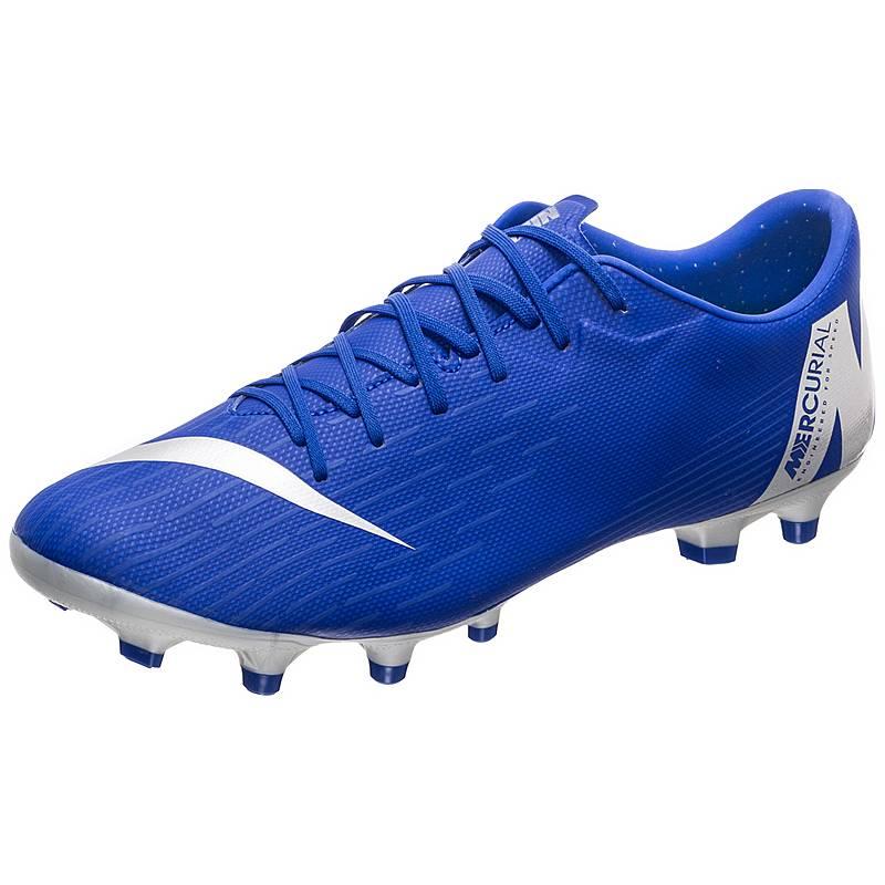 the best attitude b95fc 54aad Nike Mercurial Vapor XII Academy Fußballschuhe Herren blau  schwarz