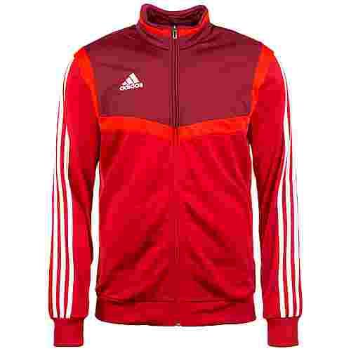 adidas Tiro 19 Polyester Trainingsjacke Herren rot / dunkelrot
