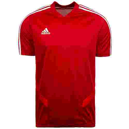 adidas Tiro 19 Funktionsshirt Herren rot / weiß