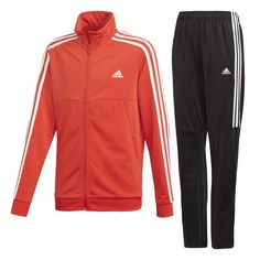 adidas Trainingsanzug Herren Active Red / White