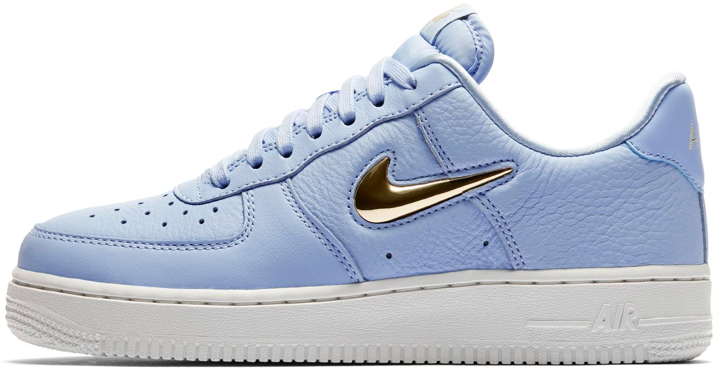 Nike Air Force 1 ´07 PRM Sneaker Damen royal tint-metallic gold star-summit  white im Online Shop von SportScheck kaufen