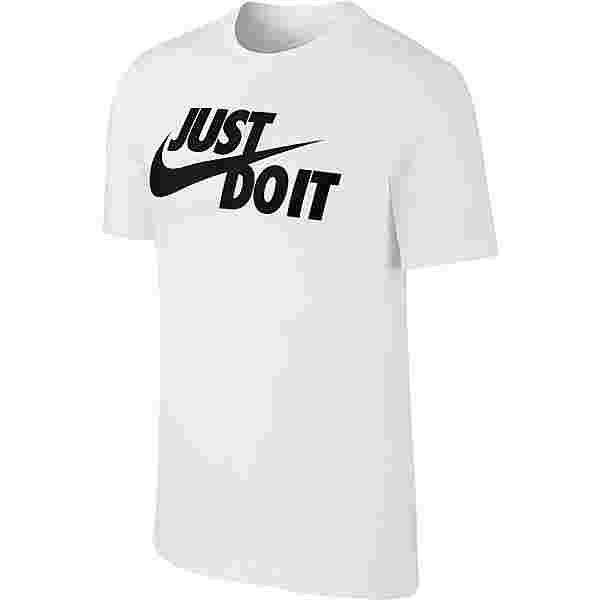 Nike NSW JUST DO IT SWOOSH T-Shirt Herren white-black
