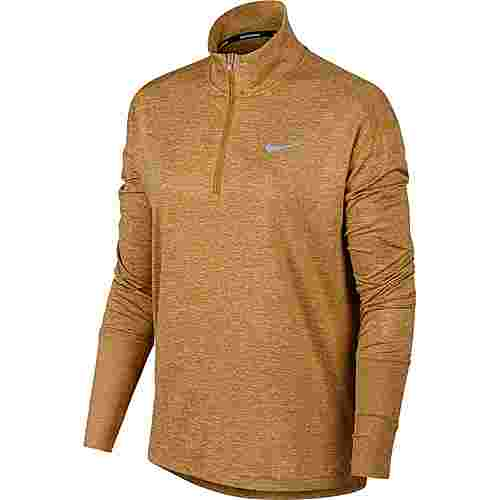 Nike Laufshirt Damen club gold-wheat-reflective silver