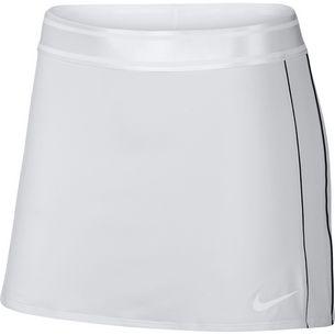 Nike W NKCT DRY SKIRT STR Tennisrock Damen white-black-black-black
