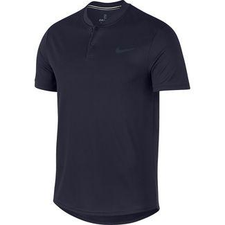 Nike M NKCT DRY POLO BLADE Tennis Polo Herren obsidian-white