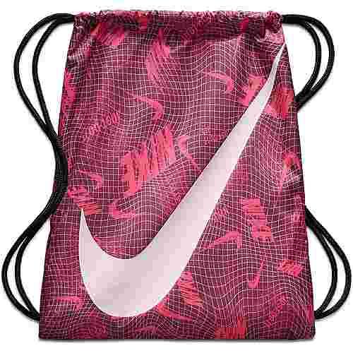 Nike Y NK GMSK GFX Turnbeutel Kinder bordeaux-black-pink-foam
