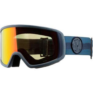 Giro Scan;amber scarlet Skibrille Storm dye line