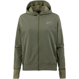 Nike Therma Spere Laufjacke Damen olive canvas/reflective silver
