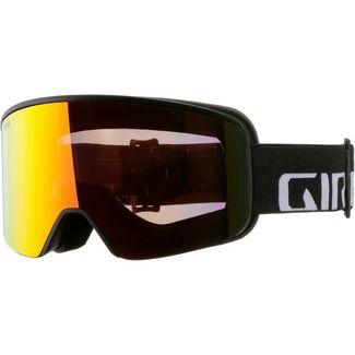 Giro Axis Vivid Ember Skibrille Black Wordmark