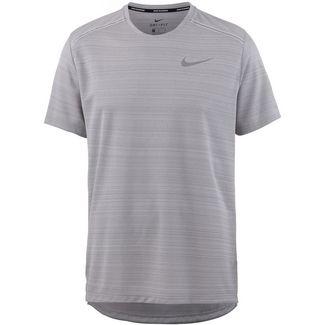 Nike Dry Miler Laufshirt Herren atmosphere grey-htr-vast grey-reflective silv