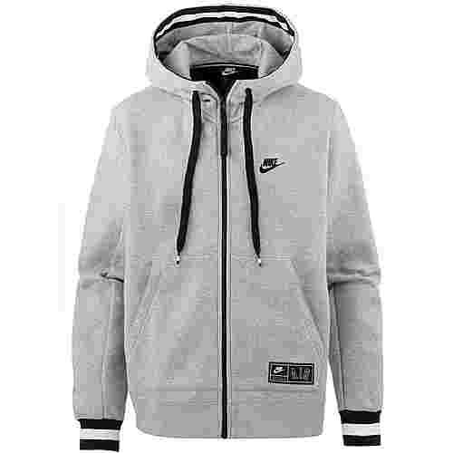 Nike NSW NIKE AIR Sweatjacke Herren dk grey heather-black-black