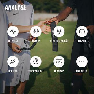 Tracktics GPS Fußball Tracker Fitness Tracker schwarz