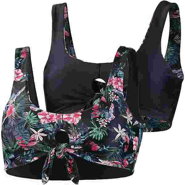 Maui Wowie Reversible Bikini Oberteil Damen schwarz
