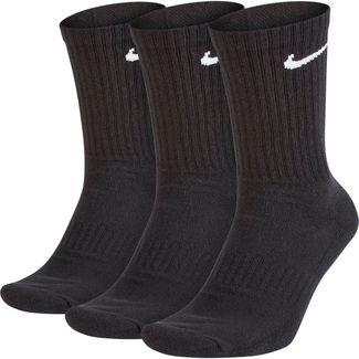 Nike CREW Socken Pack black-white