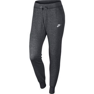 Nike Sweathose Damen charcoal heather-dark grey-white