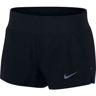 Nike Flex Triumph Laufshorts Damen black-reflective silver