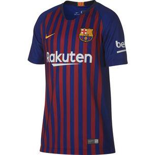 Nike FC Barcelona 18/19 Heim Fußballtrikot Kinder deep royal blue-university gold