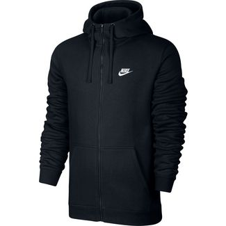 Nike NSW Club Sweatjacke Herren schwarz
