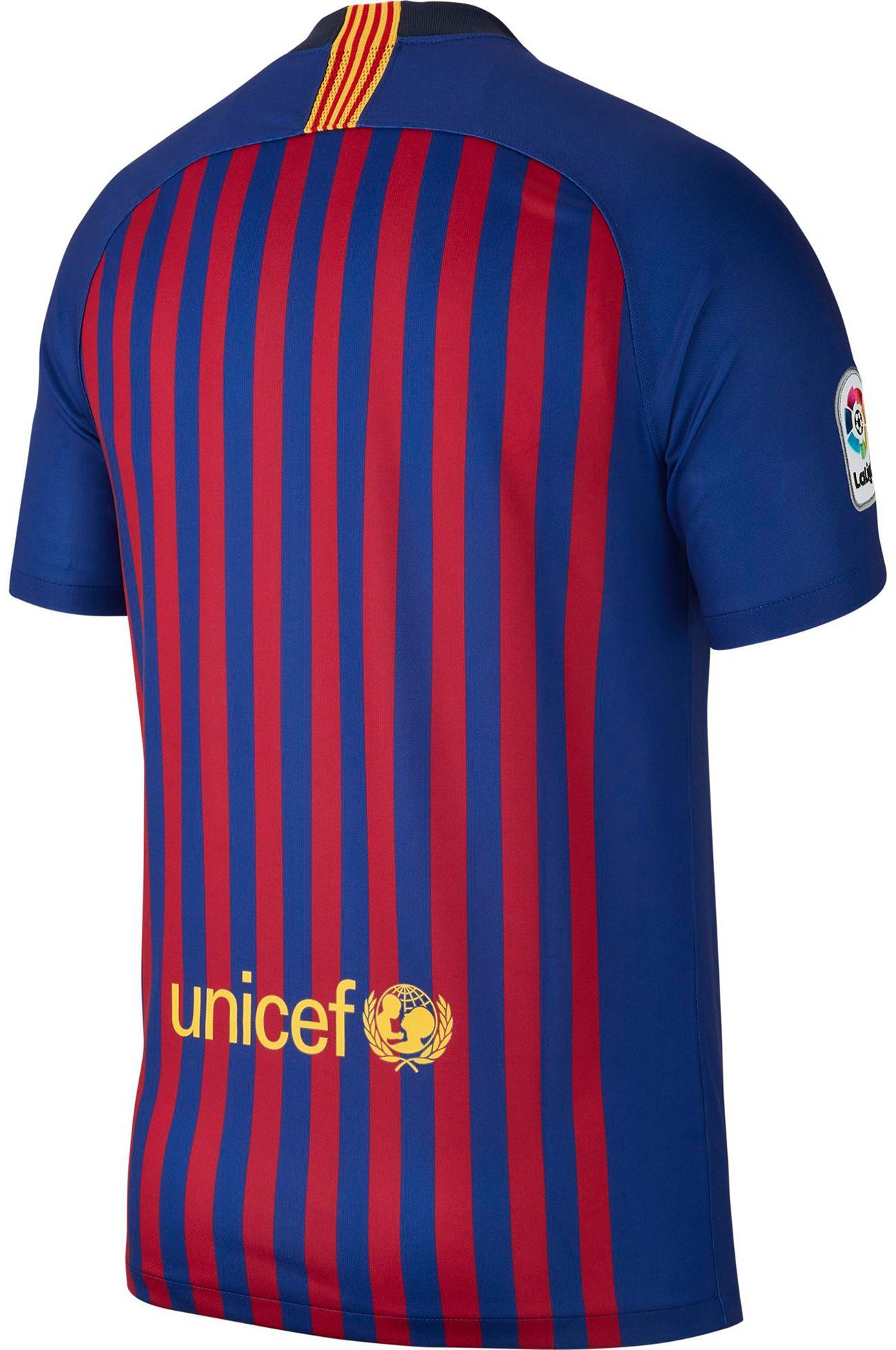 daf1474bc5eb2a Nike FC Barcelona 18 19 Heim Fußballtrikot Herren deep royal  blue-university gold im Online Shop von SportScheck kaufen