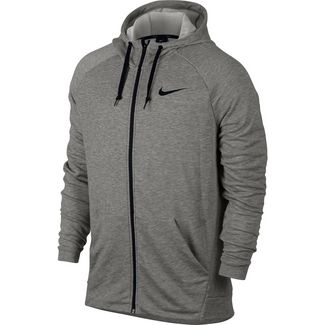 Nike Dry Trainingsjacke Herren dk-grey-heather-black-black