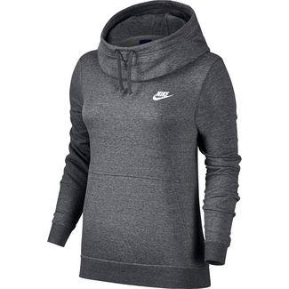 Hoodies für Damen von Nike in grau im Online Shop von