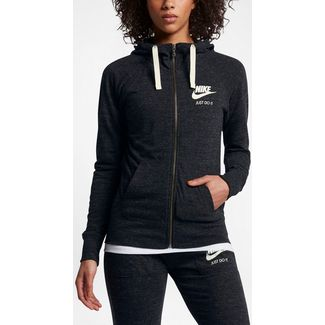 Nike Gym Vintage Sweatjacke Damen black-sail