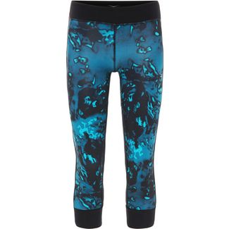 VENICE BEACH Azra Tights Damen AOP lagoon black crystal teal