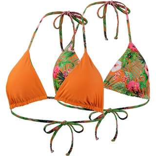 Maui Wowie Reversible Bikini Oberteil Damen ziegelrot