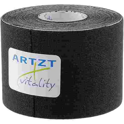 ARTZT Vitality Kinesiologisches Tape schwarz
