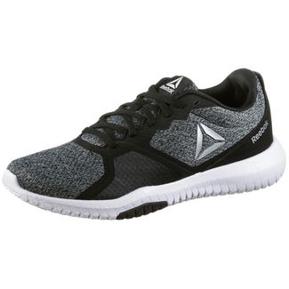 fe97e674901cc4 Reebok FLEXAGON FOR Fitnessschuhe Damen black-grey-wht-silver