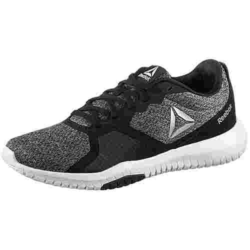 Reebok FLEXAGON FOR Fitnessschuhe Damen black-grey-wht-silver