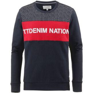 TOM TAILOR Sweatshirt Herren mighty red