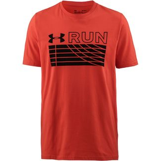 Under Armour TRACK Laufshirt Herren radiored-black-black